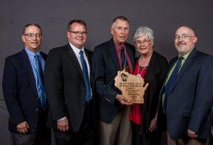 2016 Stewardship Award winner Burnett County Lakes & Rivers